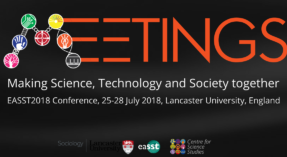 Call for Papers: EASST Conference 2018 @ Lancaster; 4S Conference 2018 @ Sydney; STS Italy Conference 2018 @ Padova