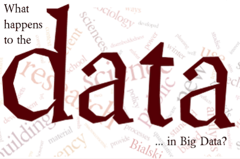 "Winter School 2016 final program: ""What happens to the data… in Big Data?"""